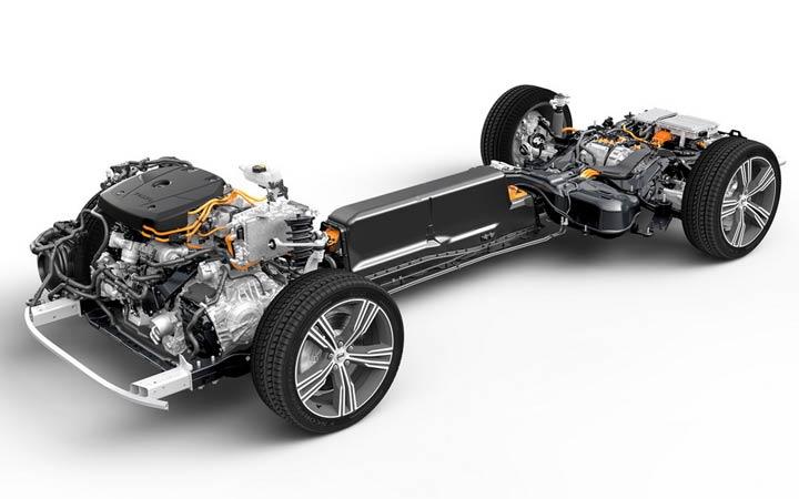 Технические характеристики гибрида Volvo S60 2019 года
