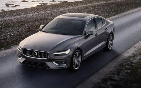 Новый дизайн Volvo S60 2019