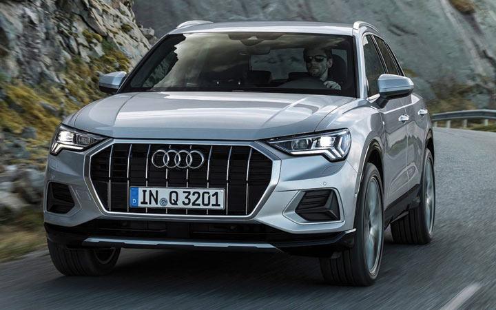 Экстерьер Audi Q3 2019