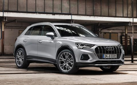 Новый дизайн Audi Q3 2019
