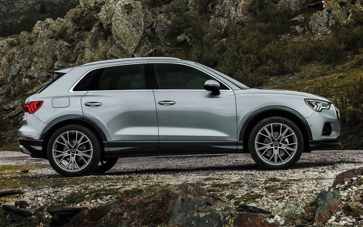 The equipment of the new model Audi Q3 2019