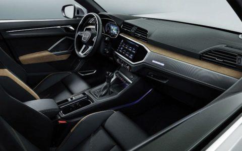 Интерьер Audi Q3 2019