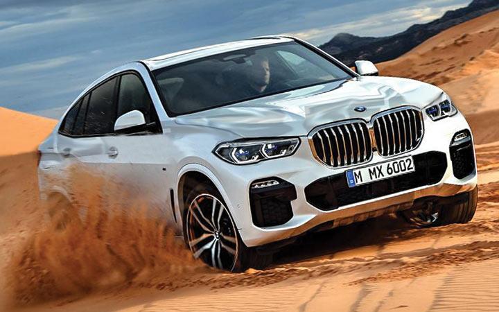 Экстерьер BMW X6 2019 года