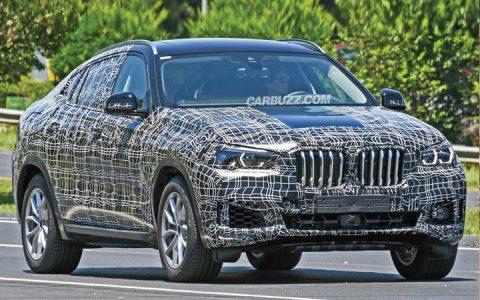 Первые фото BMW X6 2019 года