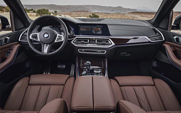 Интерьер BMW X6 2019 года