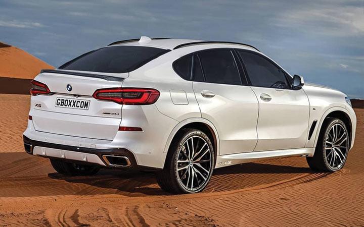 Новый стиль BMW X6 2019 года