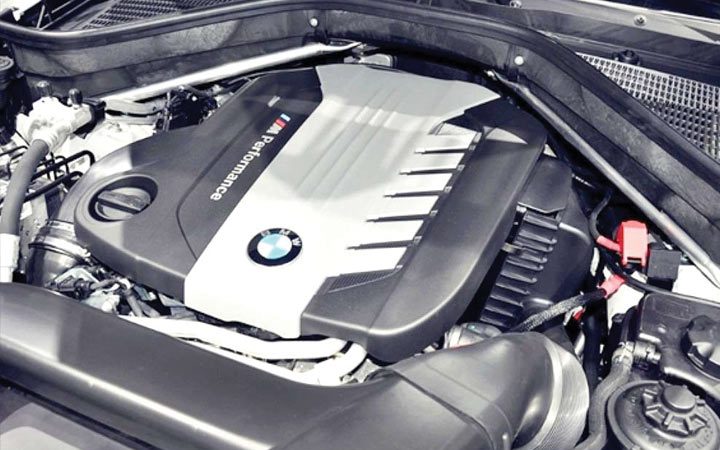 Двигатель BMW X6 2019 года