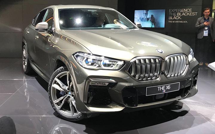 Премьера BMW X6 2019-2020 в Франкфурте