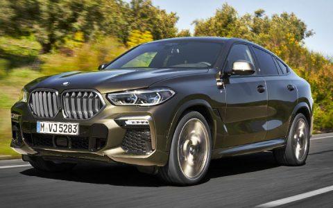 Экстерьер BMW X6 2019-2020