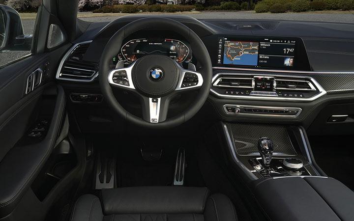 Интерьер BMW X6 2019-2020