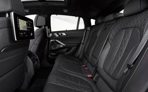 Второй ряд BMW X6 2019-2020
