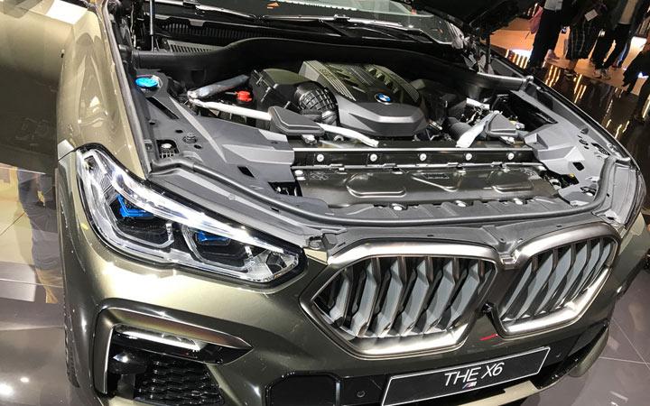 Технические характеристики и цена серийного BMW X6 2019-2020