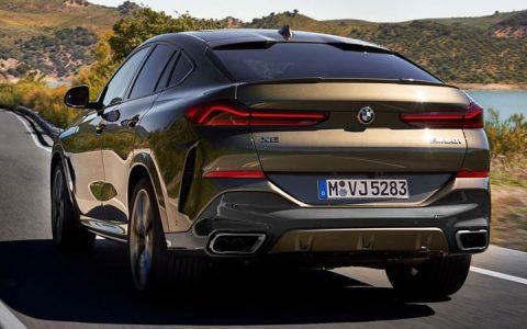 Новый BMW X6 2019-2020