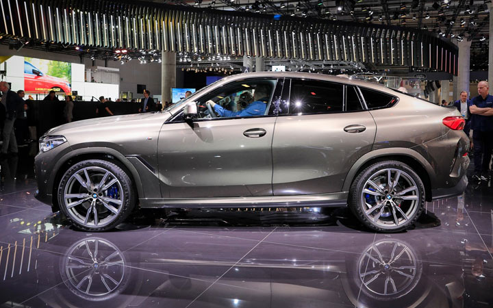 Габариты и технические характеристики нового BMW X6 2019-2020