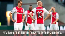 Чемпионат Голландии по футболу 2018-2019 года