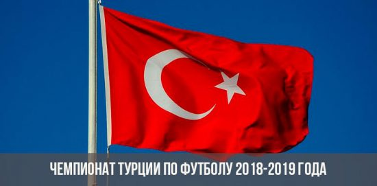 Чемпионат Турции по футболу в 2018-2019 году