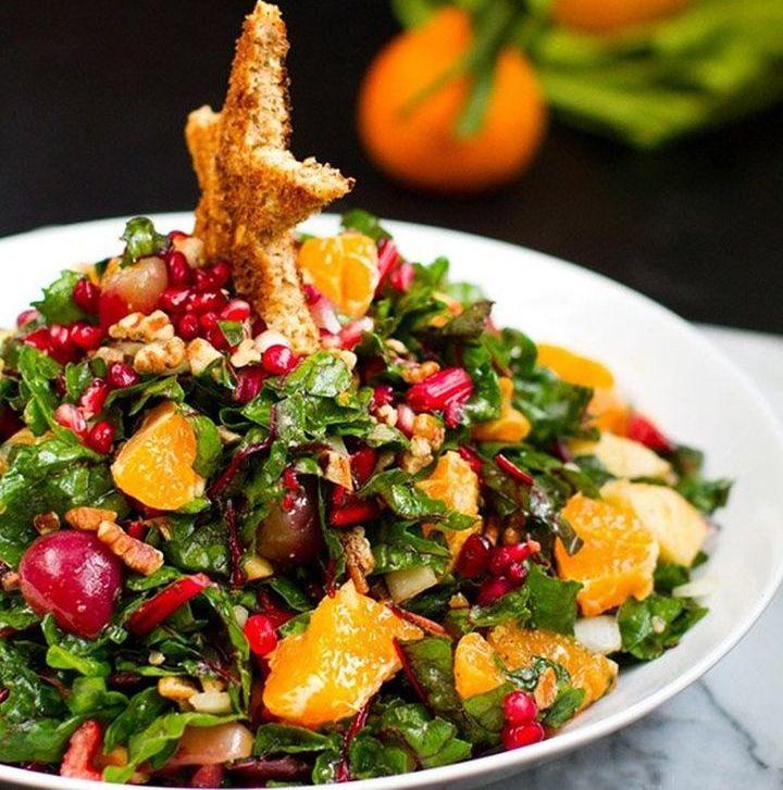 Новогодний салат с говядиной