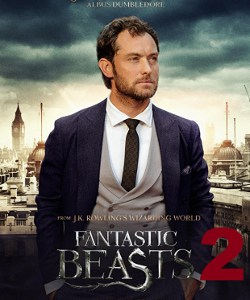 Poster for the film Fantastic beasts 2
