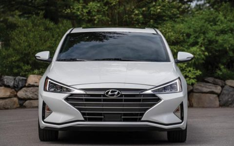 Оптика Hyundai Elantra 2019