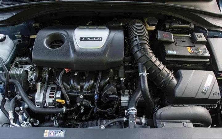 Двигатель Hyundai Elantra 2019