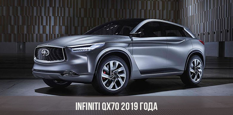 Infiniti QX70 2019 года