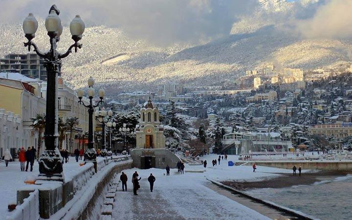 Зимний Крым погода в 2019 году