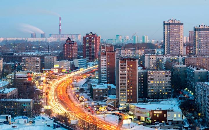 Новосибирск зимой