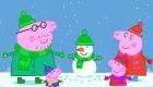 Свинка Пеппа зимняя картинка