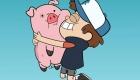 Мультяшная свинка