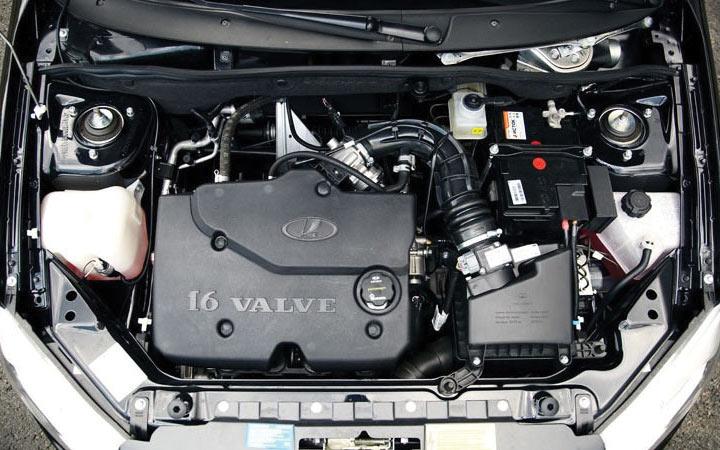 Двигатель Lada Granta 2019 года