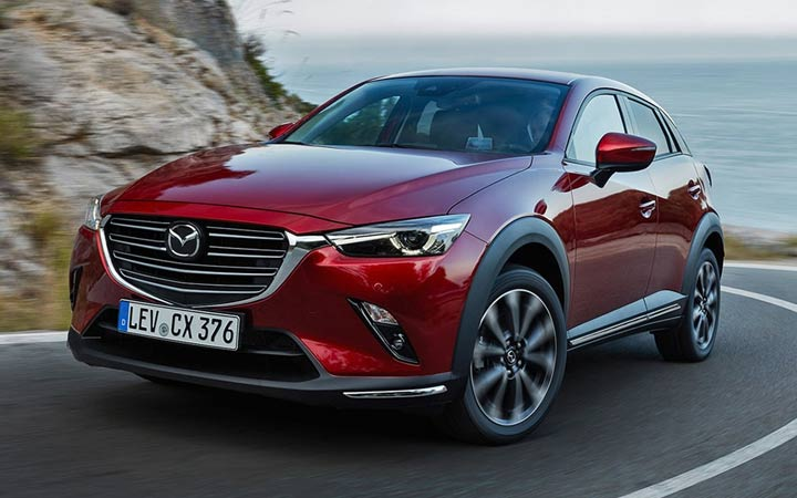 Экстерьер Mazda СХ-3 2019 года