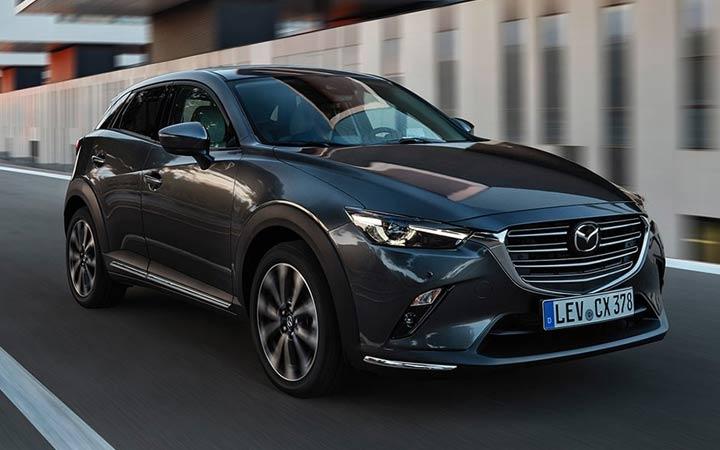 Новая Mazda СХ-3 2019 года