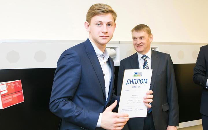 Олимпиада Газпром награждение