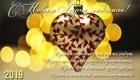 Новогодняя открытка с сердечком