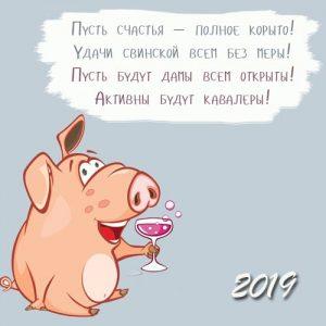 2019 Год Свиньи