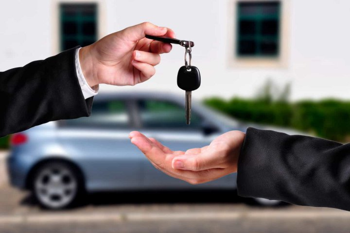 передача ключей от авто