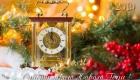 открытка новогодняя 2019 года часы