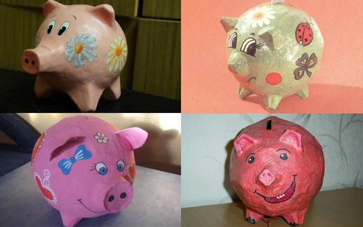 Свинка-копилка к 2019 году