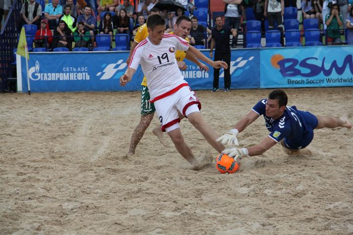 Пляжный футбол: сезон 2018-2019