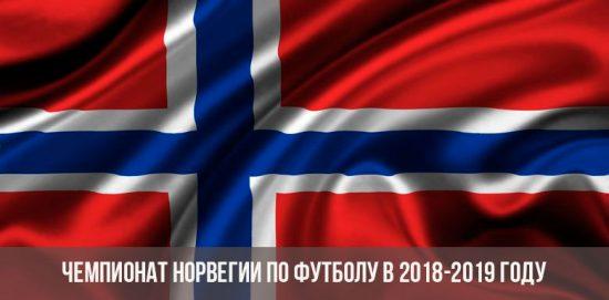 Чемпионат Норвегии по футболу в 2018-2019 году