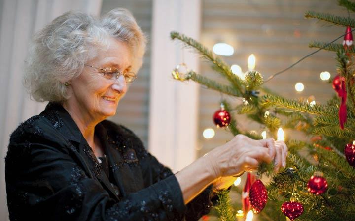 Новогодний подарок сестре пенсионерке