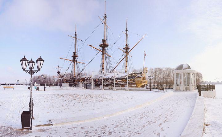 Зимний Воронеж