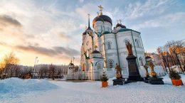 Зима в Воронеже в 2018-2019 году