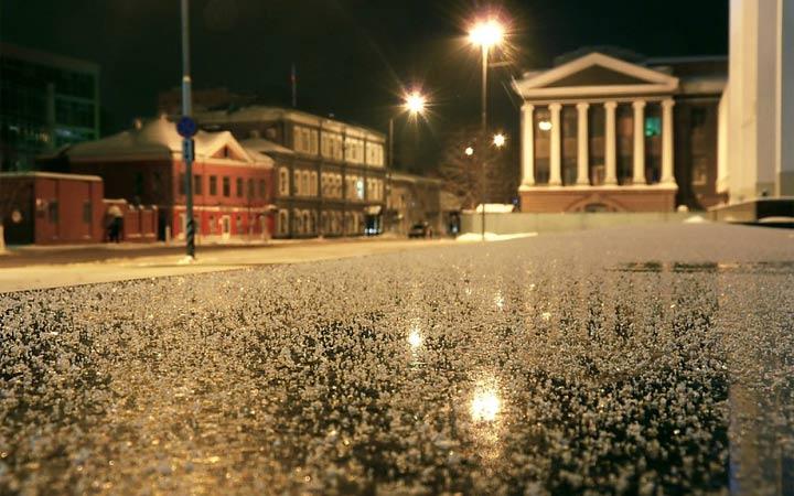 Снег в Самаре