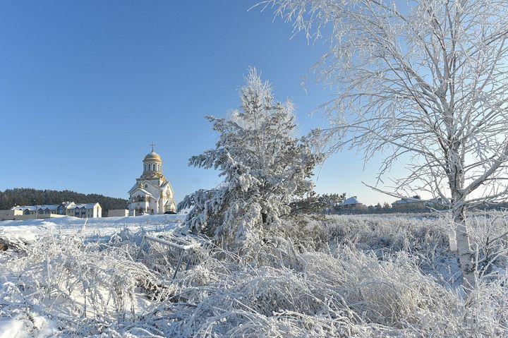 Зима в Удмуртии