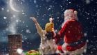 Рождественская картинка с Сантой