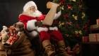 Открытки к Рождеству 2019 с Сантой