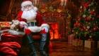 Картинки с Сантой на Рождество 2019