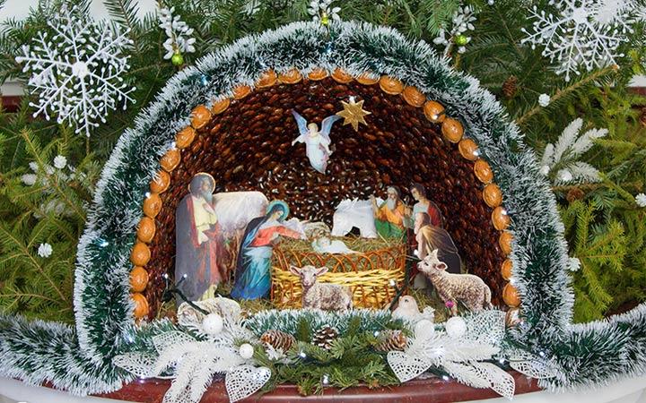 Вертеп Рождественская композиция