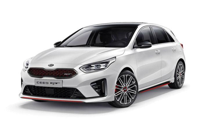 Новое поколение Kia cee'd GT 2019 года